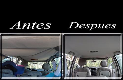 tapizado de techos de autos,rover,honda,chrysler,caravan,alf