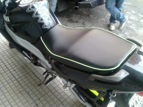 tapizado para aciento de moto tipo personalizado u original.
