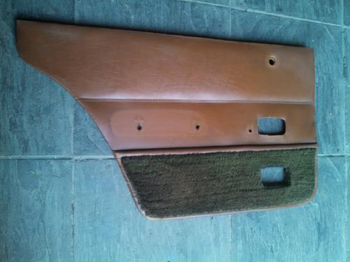 tapizados de puertas traseras para ford taunus 81-84
