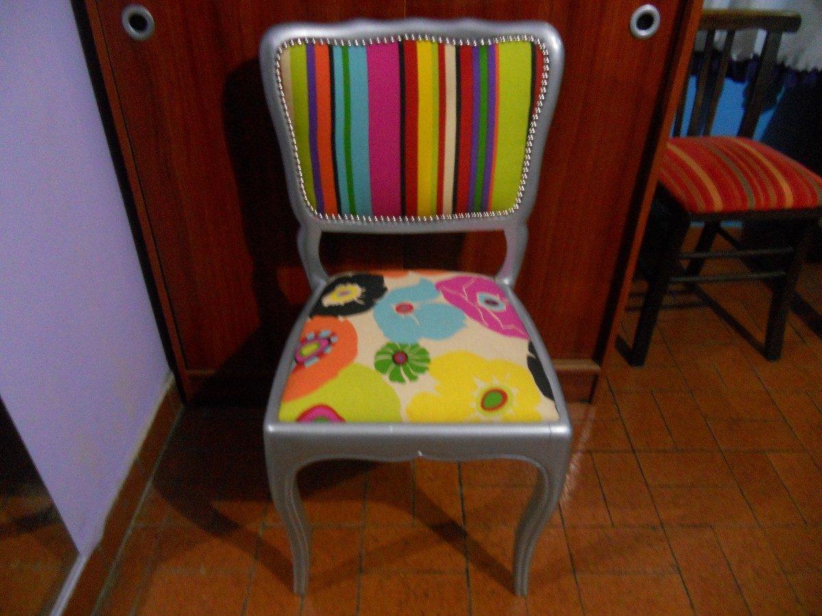 Tapizo Tus Sillas De Caño ,de Cocina,de Comedor ,banquetas - $ 350 ...