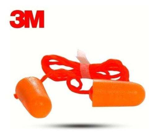 tapon auditivo con cordon 3m codigo 1110 desechable (100 pz)