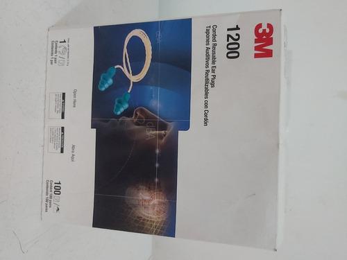 tapón auditivo reutilizable, 3m 1200 (por 01 par)