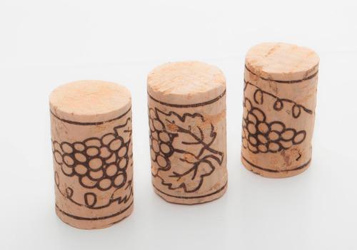 tapón de corcho natural para vino (100 unidades)