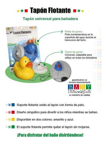 tapon flotante p/ bañadera baby innovation