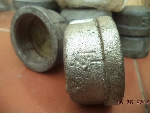 tapón hembra de 1 1/2  galvanizado