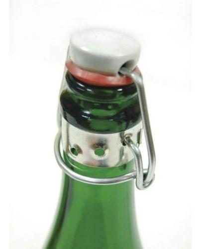 tapon mecánico cerveza artesanal vino licor nuevos (x10un)