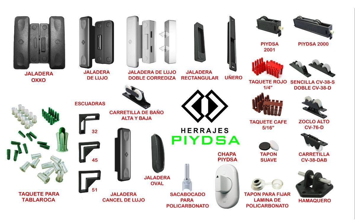 Tap n para fijar policarbonato 2 en mercado libre for Herrajes para toldos de aluminio