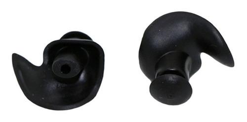 tapon para oido de silicona negro moldeable p natacion nuevo
