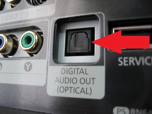 tapón para salida o entrada de audio digital-fibra óptica eg