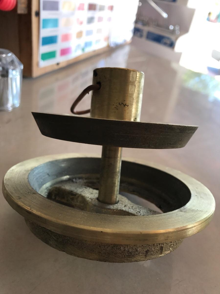 Tapon tapa para alberca piscina drenaje 4 empotrar bronce for Drenaje de piscina
