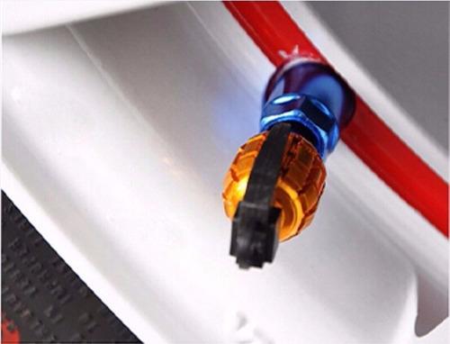 tapón valvula granada americana accesorios bicicleta y auto