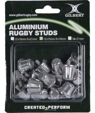 tapones de aluminio gilbert para rugby / pack 15 mm - 11041