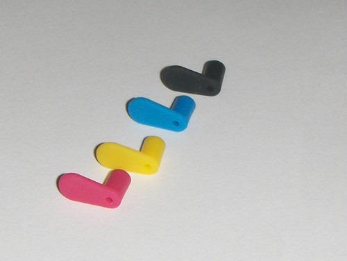 tapones de lengüeta para cartuchos rellenables  20 piezas