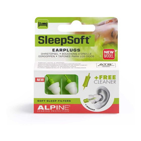 Tapones Oidos, Alpine Sleepsoft , Dormir Anti Ronquidos
