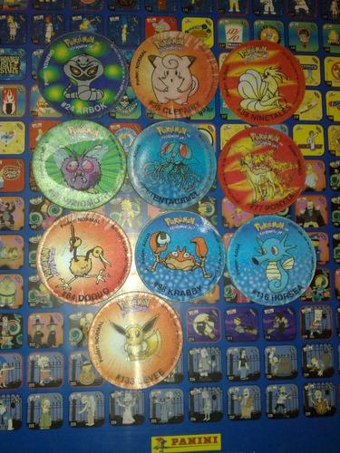 taps tazos pokémon película 2000 chipy
