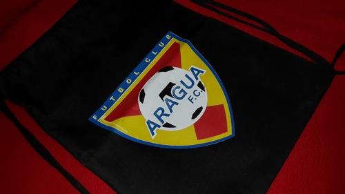 taqueras bolsos deportivos futbol futve aragua fc fvf