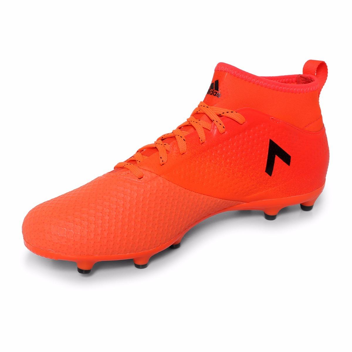 67b575ea20e82 taquetes de futbol adidas ace 17.3 naranja y negro original! Cargando zoom.