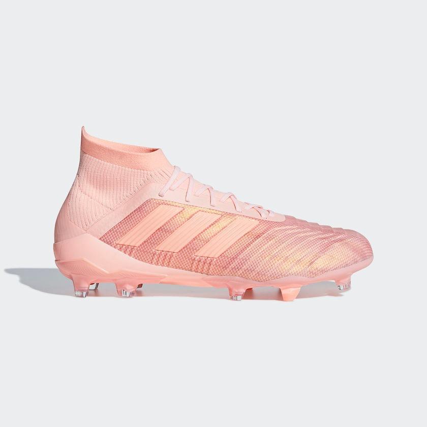 0c7ab1312c321 Taquetes De Fútbol adidas Predator 18.1 Fg Rosas