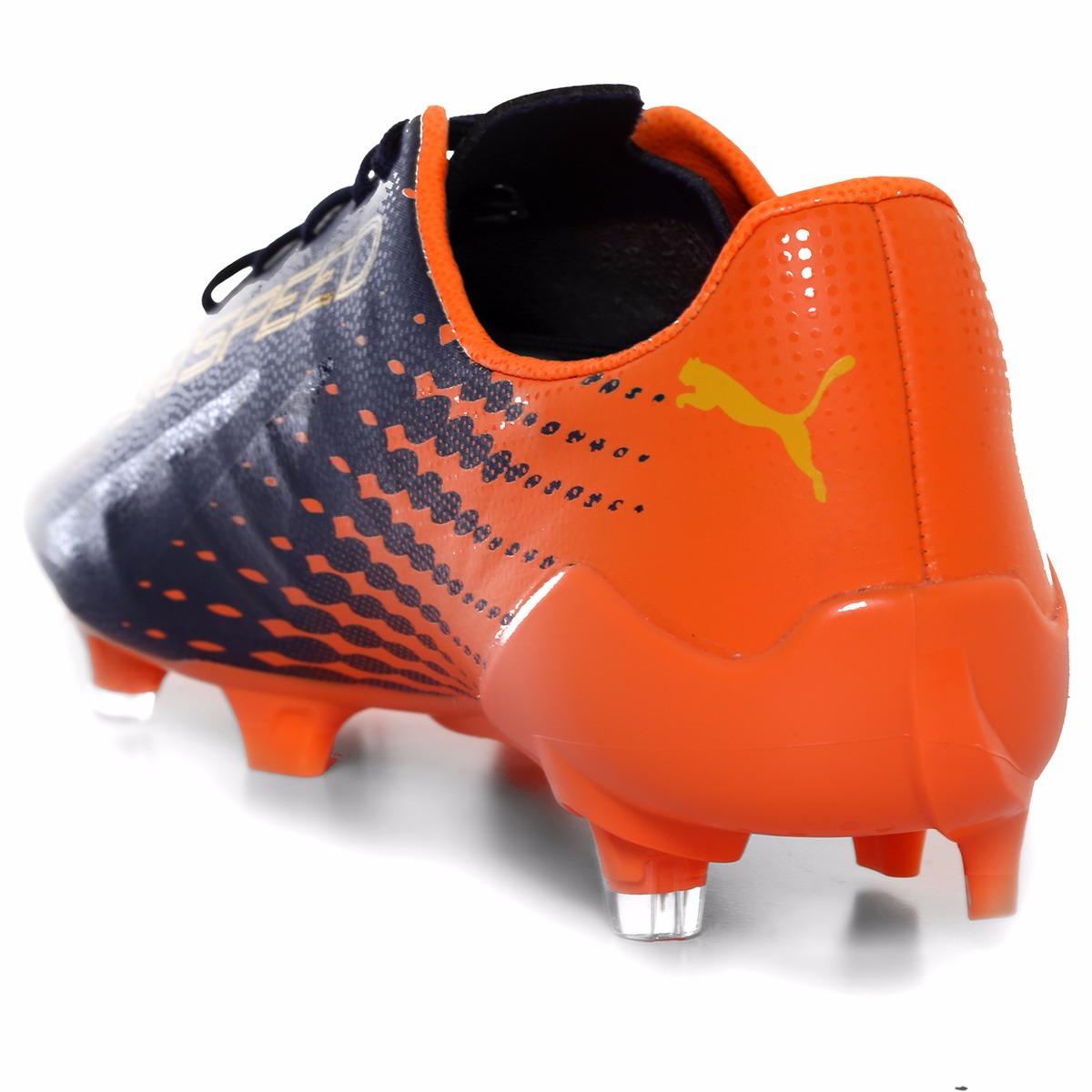 Taquetes De Futbol Puma Evospeed Amarillo Y Naranja Original ... 9467e24e9577e