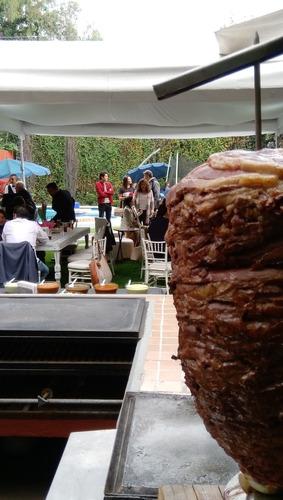 taquiza trompo de sirloin carne importada black angus