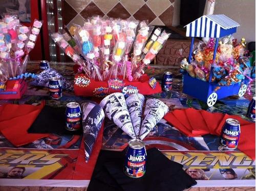 taquizas deliciosas y mesas de dulces