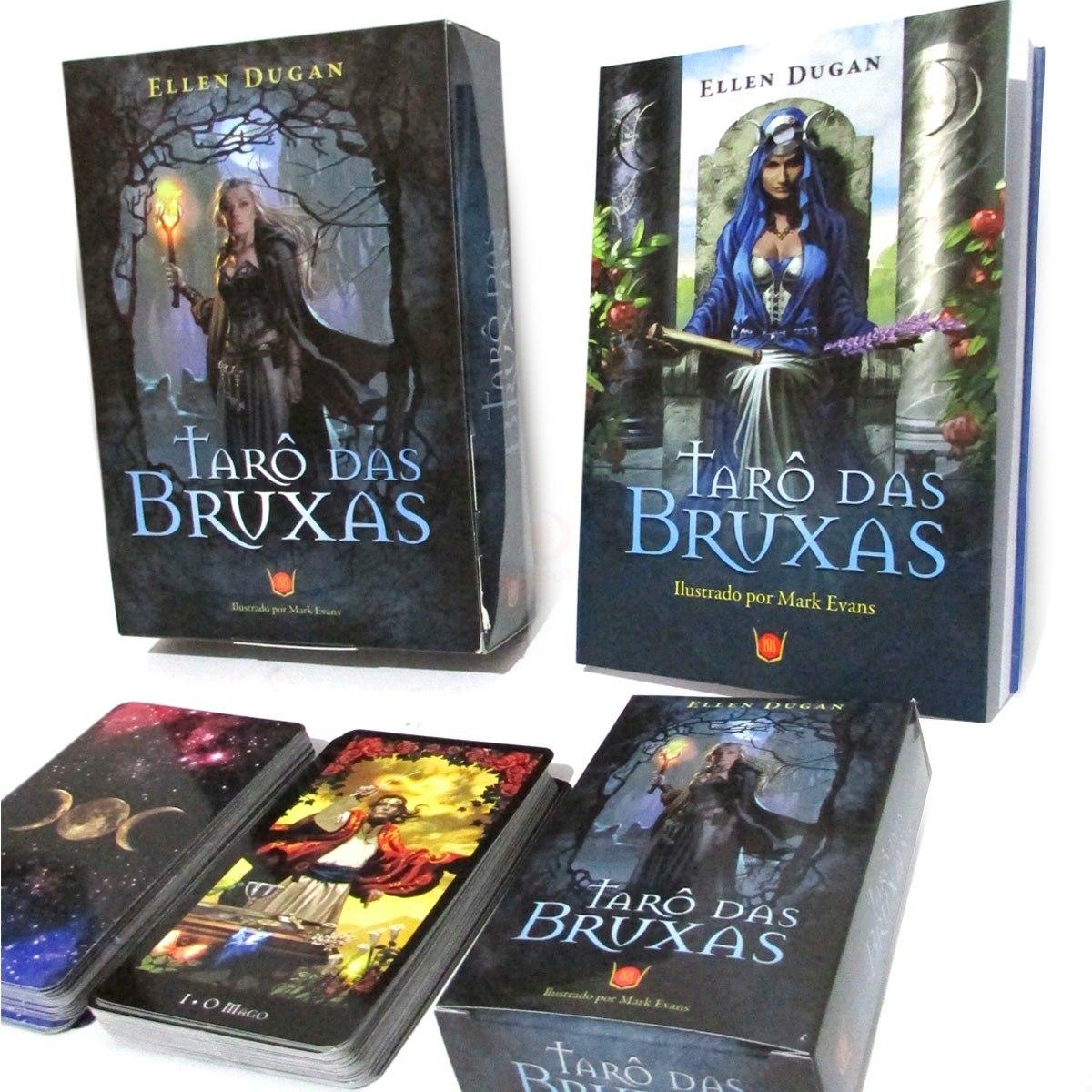 Tarô Das Bruxas Livro + Tarô 78 Cartas - Editora Isis - R