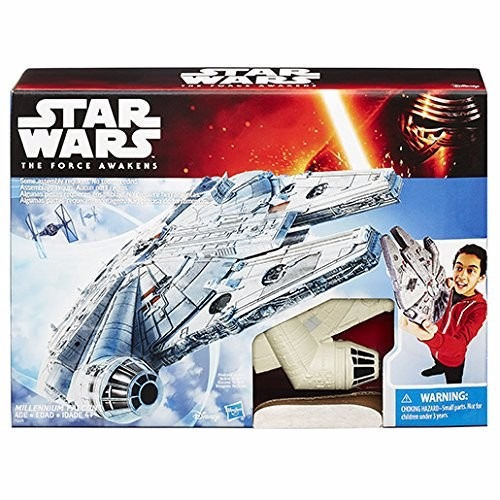 tar wars: the force awakens millennium falcon spaceship
