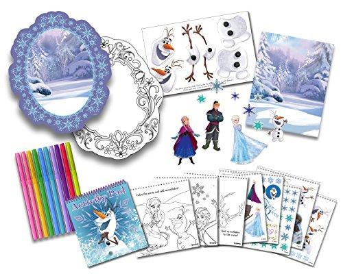 Tara Toys Disney Congelados Creativos Para Colorear, Pegatin ...