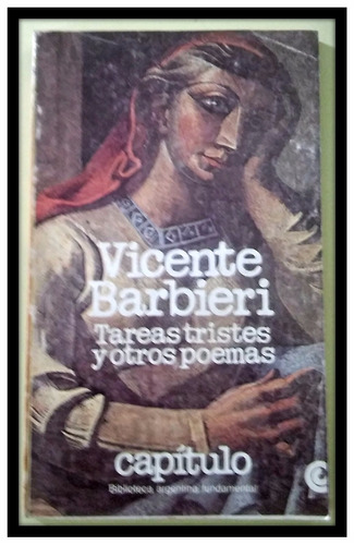 tareas tristes y otros poemas  vicente barbieri