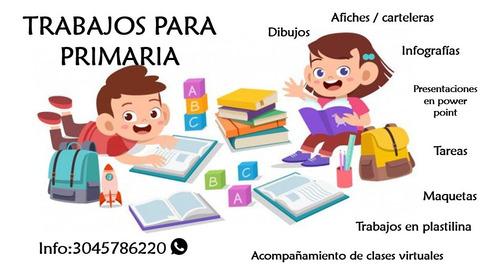 tareas y refuerzo escolar para primaria