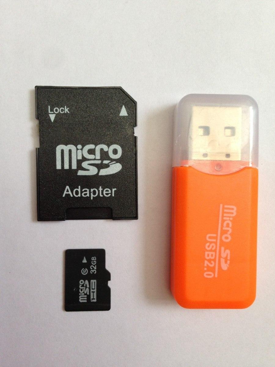 Targeta De Memoria Micro Sd De 32 Gb Con Adaptador Y
