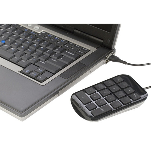 targus akp10us, teclado numérico alámbrico usb / ergonómico