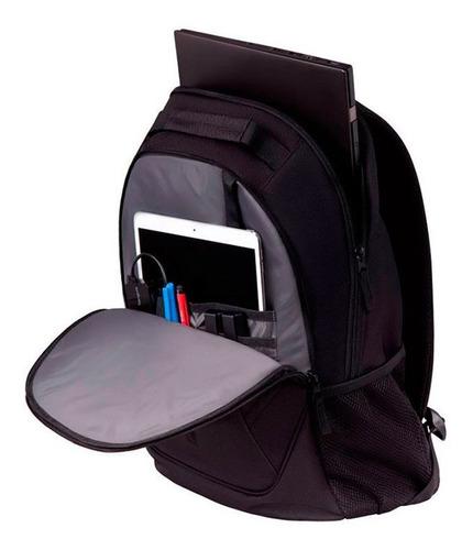 targus mochila 16  ascend backpack black