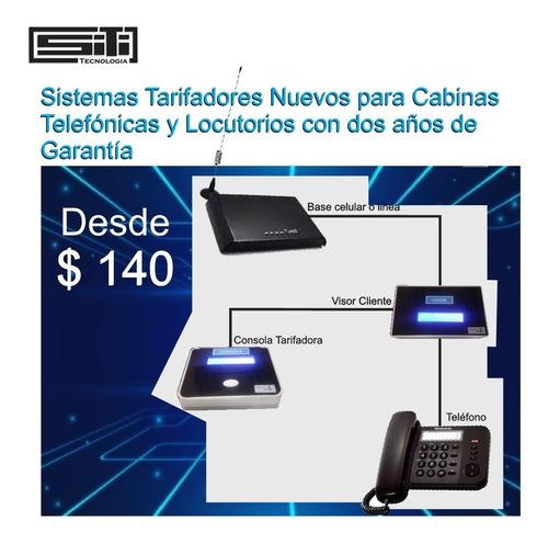 tarifador de cabina telefónica  $140 nuevo