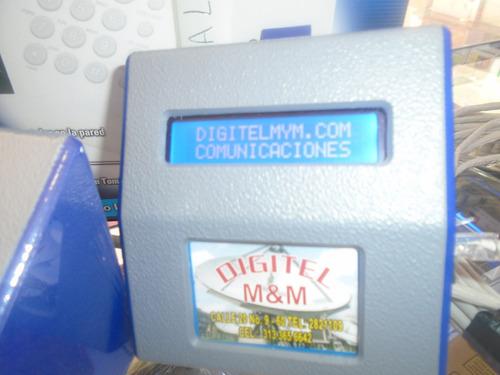 tarificador universal. cabinas telefonicas, todas las lineas