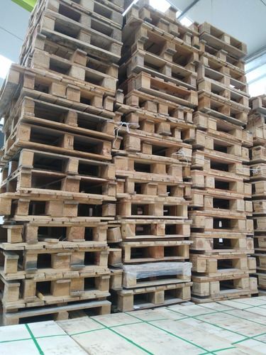 tarima de madera 90 x 60 x 12 cms un solo uso