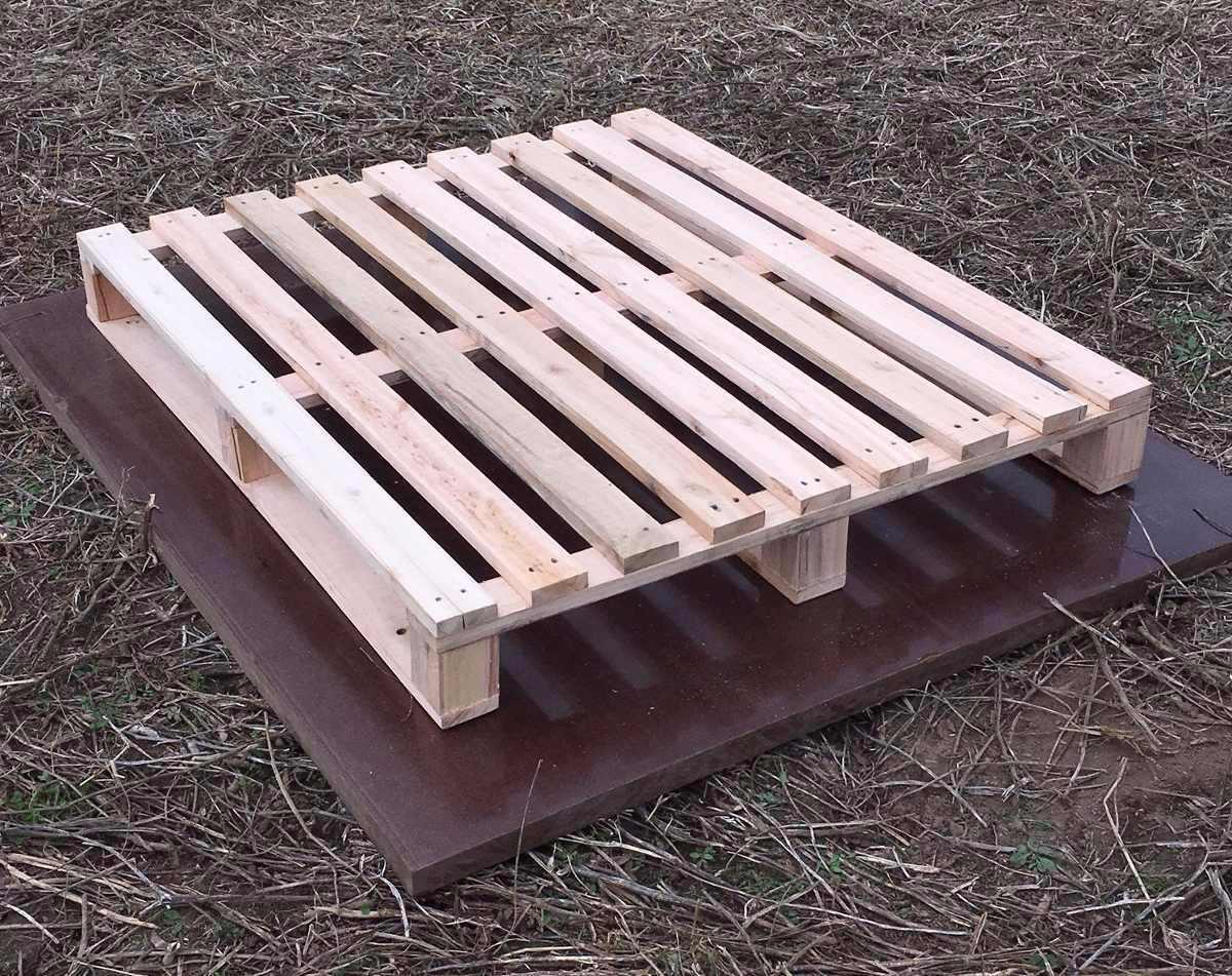 Tarima de madera seminueva reciclada para exportacion - Precio de tarima de madera ...