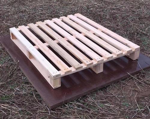 Tarima de madera seminueva reciclada para exportacion - Tarimas de madera usadas ...