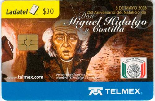 tarj 8 de mayo 2003 natalicio de don miguel hidalgo y costil