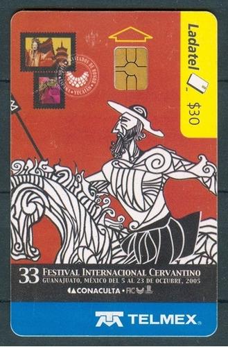 tarj quijote 33 festival internacional cervantino