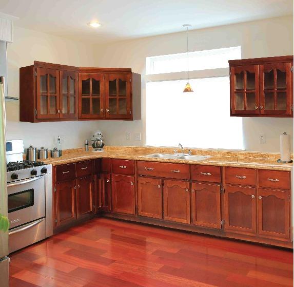 Tarja doble fregadero para cocina integral madera granito - Modelos de fregaderos ...