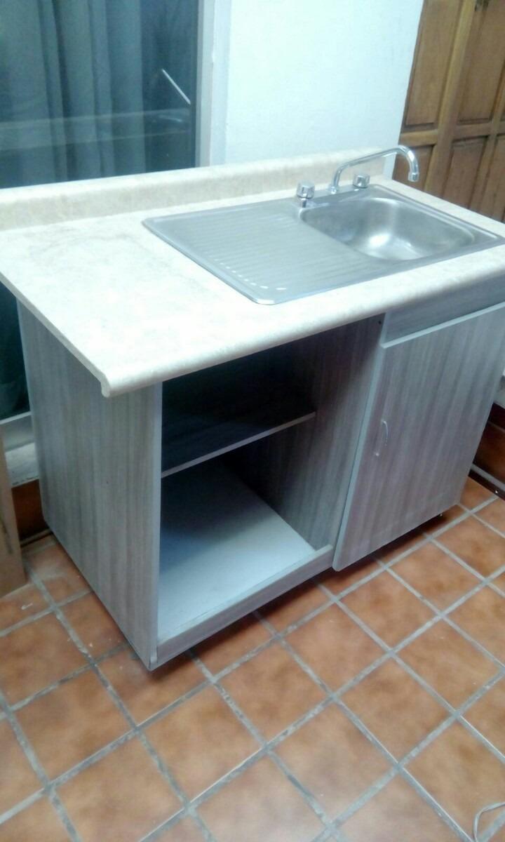 Tarja y mueble para cocina 3 en mercado libre for Mueble pared cocina