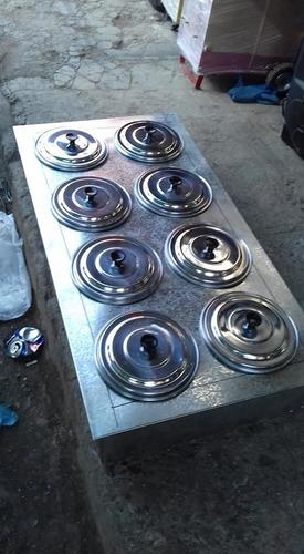 tarjas de acero inoxidable