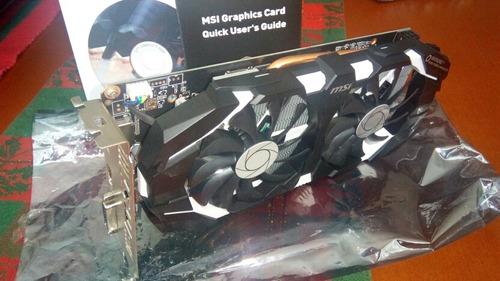 tarjerta de video msi geforce gtx 1060 6gb oc armor