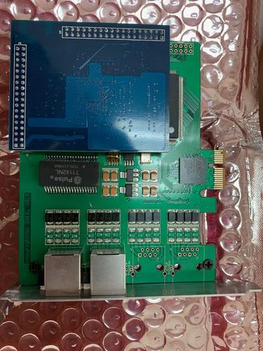 tarjeta 2 puertos e1/t1 compatible asterisk hard. eco canc.