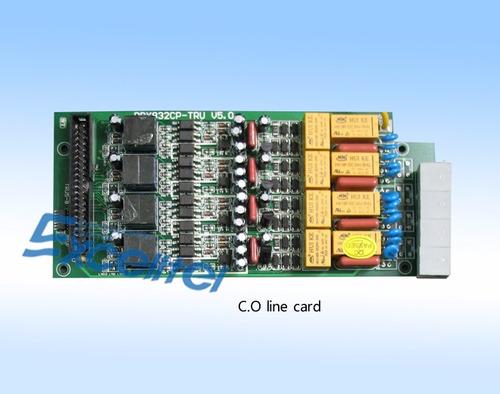 tarjeta 4 lineas para conmutador pabx832
