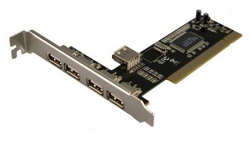 tarjeta 4 puertos usb 2.0 pci oferta hasta agotar stock!!