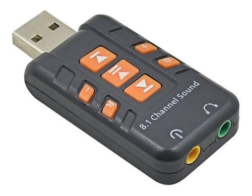 tarjeta adaptador audio sonido externa usb 2.0 pc 8.1 nitron