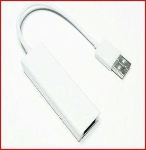 tarjeta adaptador red externo usb a lan rj45 10/100