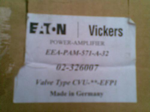 tarjeta amplificadora vickers modelo eea-pam-571-a-32 nueva